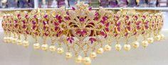 Latest 1 Garm Gold Vaddanam With Price | Buy Online Jewelery | Elegant Fashion Wear