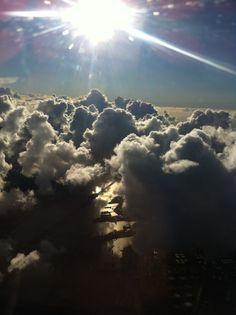 Somewhere over Amsterdam