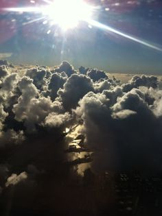 Somewhere over Amsterdam