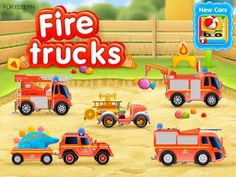 best kids apps - Fire Trucks 911 rescue