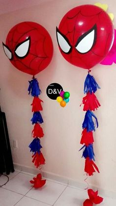 birthday apartment decoration in the spiderman style: 10 thousand images found Geburtstag Wohnung Dekoration im Spiderman-Stil: 10 Tausend Bilder gefunden. Avengers Birthday, Superhero Birthday Party, 4th Birthday Parties, Birthday Balloons, Birthday Party Decorations, Spiderman Birthday Ideas, 3rd Birthday, Spider Man Birthday, Avengers Party Decorations