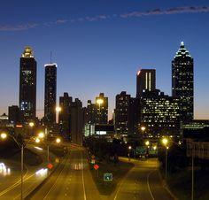 Atlanta Skyline by k1ng