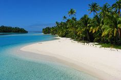 Aitutaki is one of the small Cook Islands in the Pacific Ocean | has best beaches in the world
