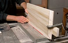A veteran cabinetmaker shows you how to build a Shaker-style cabinet door in six easy steps - this is actually a raised-panel door, but a Shaker-style should be easy to adapt from this tutorial. Carpentry Projects, Diy Wood Projects, Furniture Projects, Furniture Making, Diy Furniture, Woodworking Techniques, Woodworking Jigs, Shaker Style Cabinet Doors, Raised Panel Doors