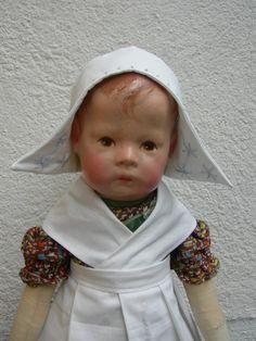 Antike frühe Käthe Kathe Kruse Puppe I, doll, breite Hüften, ca 43cm   eBay