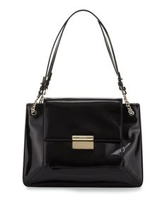 Christy Leather Shoulder Bag, Black by Jason Wu at Neiman Marcus.