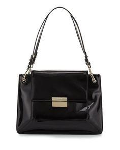 Christy Leather Shoulder Bag, Black by Jason Wu at Neiman Marcus.