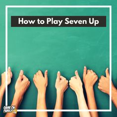 How to Play Seven Up – The Classic Classroom Game that's so easy! Group Games, Fun Games, Fun Classroom Games, Some Fun, Teacher Resources, Back To School, 1950s, Sumo, Homeschool
