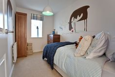 Children's bedroom in The Southwold at Harvest Meadows in Southwater   Bovis Homes