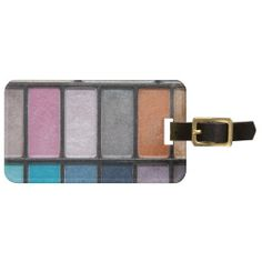 Glittery Eyeshadow Tags For Bags