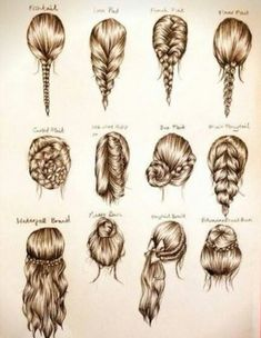 Wow there is a lot of hair styles out there...