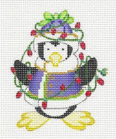 Riolis Funny Penguins Cross Stitch kit Baumwolle 40 x 25 x 0,1 cm Multi-Color