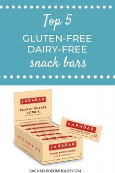 Top 5 Gluten-free Dairy-free Snack Bars - Rachael Roehmholdt