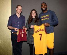 Kate Middleton Photos: LeBron James Hangs with British Royals