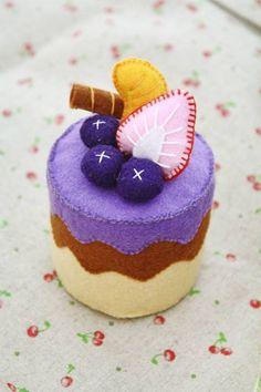 Blueberry cake by li-sa on DeviantArt