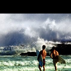 Went surfing once in Maui, I was terrible but I fell in love with surf culture & everything about it.