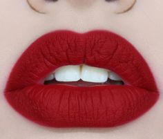 Love it, looks like you'd have to blot/blend the lip line a bit to give that hazey look #matteredlips