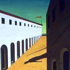 Mystery and Melancholy of a Street by Giorgio de Chirico