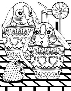 Bunny Coloring Pages, Easter Colouring, Mandala Coloring Pages, Colouring Pages, Coloring Pages For Kids, Coloring Sheets, Coloring Books, Silkscreen, Easter Arts And Crafts