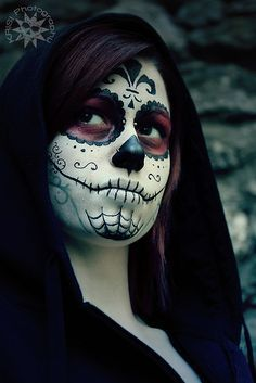 Dark Sugar Skull by KrisiPhotography, via Flickr