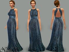 The Sims Resource: Resort gown by NataliS • Sims 4 Downloads