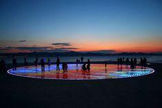 Nikola Basic Sun Salutation Installation at Croatia Coast