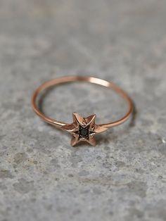 Free People Itzel Diamond Ring, $238.00