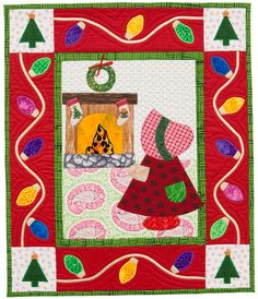 Martingale - Year in the Life of Sunbonnet Sue, A (Print version + eBook bundle) Winter Christmas