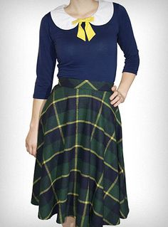Is this outfit not the BEST? #retro #mod #fashion