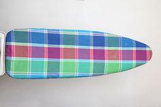 Multi coloured checks ironing board cover by Suraaj Linens