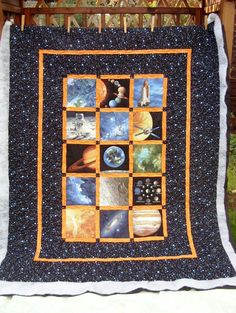 M's Space quilt