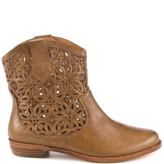 I don't normally like short boots, but these caught my eye!     Spiro - Whiskey Burnish main view