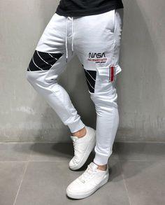 Nasa, Fashion Pants, Mens Fashion, Street Fashion, Mens Sweatpants, Outfit Combinations, Casual Street Style, Jogger Pants, Skinny Fit