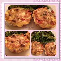 Clafoutis tomates thon au boursin WW - La cuisine de Boomy Fish Recipes, Healthy Recipes, Salad Cake, No Cook Meals, Baked Potato, Seafood, Clean Eating, Lose Weight, Tasty