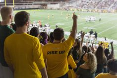 Rise up and attend the Homecoming game against Ferris State tomorrow at 4 p. Homecoming Games, Homecoming Week, Welcome Students, School Spirit