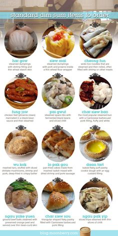 Standard items to order at a Chinese #dimsum restaurant. #chinesefood #food