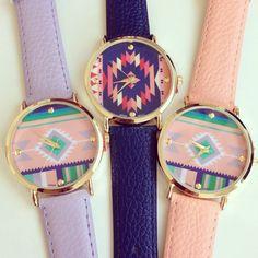 Pantone Color Aztec Watch $29.50