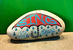 Sing In The Rain by ArtbyJeniAnderson on Etsy