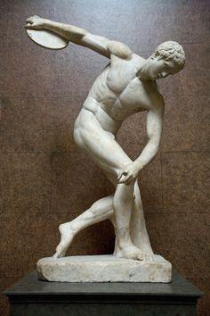 Discóbolo de Mirón  en el British Museum