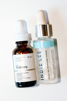 The Ordinary 100% Plant-Derived Squalane and Indie Lee Squalane Facial Oil
