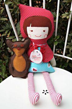Red (boneca de pano) - ana sinhana