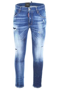 Dsquared Sexy Twist Jeans In Blue Denim Jeans, Skinny Jeans, Stretch Denim, Dsquared2, Mens Fashion, Sexy, Model, How To Wear, Pants