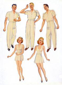 Army Nurse and Doctor 1943 Merrill #3425 m - Bobe - Picasa Web Albums
