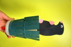 paper veggie craft   3D Paper Fruits and Vegetables   LS ...