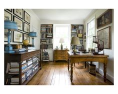 Trey LaFave's Atlanta Farm House Library Photograph: Erica George Dines