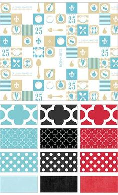 Ooh La La by Jo Packham of Where Women Cook for Riley Blake Designs—Subscribe to our newsletter at http://www.rileyblakedesigns.com/newsletter/