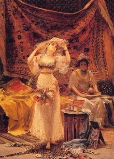Fabbio Fabbi (1861-1946)  In the Harem