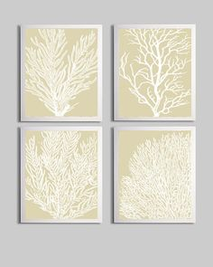 Could do prints from leaves, branches, etc