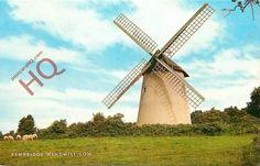 POSTCARD: Isle Of Wight, Bembridge Windmill [Salmon]   eBay