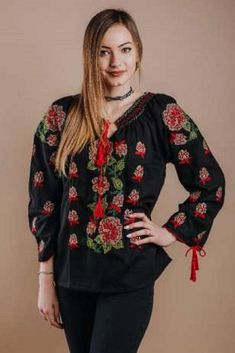 shop - The traditional embroidered blouse , cotton Worked on cotton or on canvas, handmade or machine embroidery, Blouses For Women, Christmas Sweaters, Graphic Sweatshirt, Traditional, Embroidery, Sweatshirts, Etsy, Shopping, Fashion